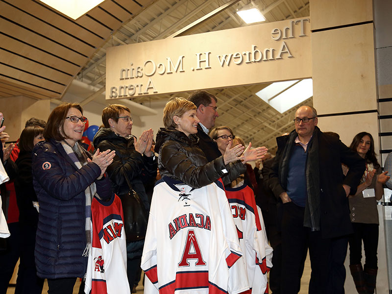 McCain Arena Opening